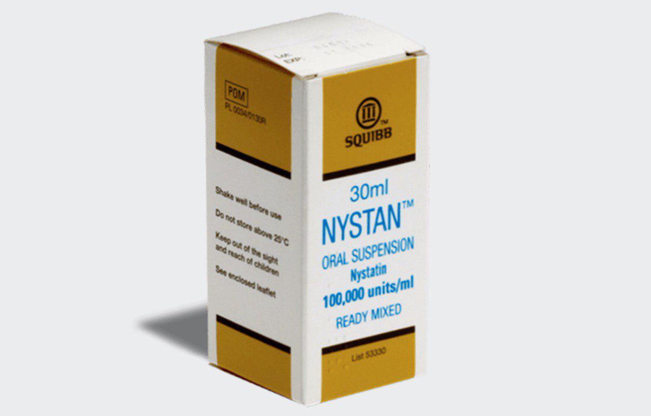 köpa Nystatin receptfritt